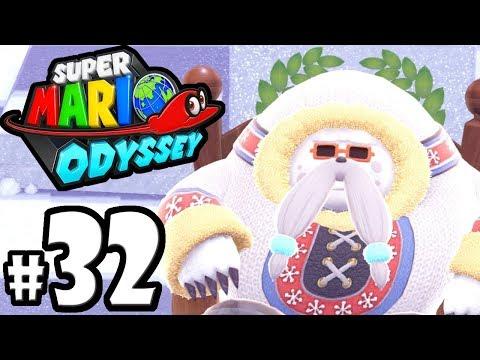 Super Mario Odyssey - Nintendo Switch Gameplay Walkthrough PART 32: Snow Kingdom Moons - Shiveria