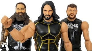 Seth Rollins, Kevin Owens & Bray Wyatt WWE Mattel Tough Talkers Toy Review!!
