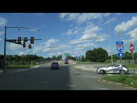 Driving from Richmond to Sandston,Virginia