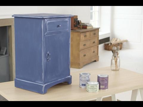 How to Use Rust-Oleum Metallic Finish Furniture Paint