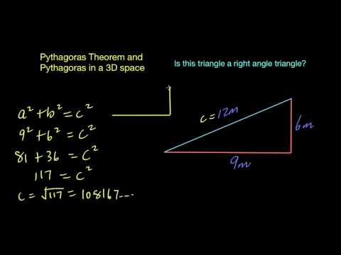 Pythagoras - Is the triangle right angled?