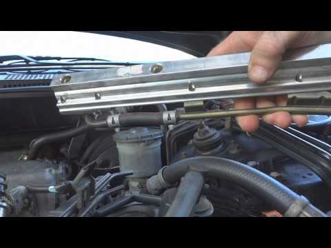 Fuel injector cleaning on a 1994 Honda Accord EX