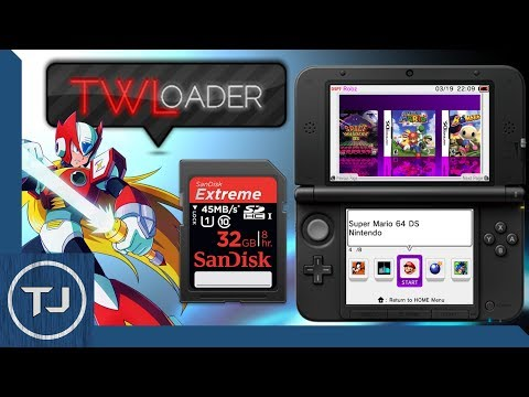 Play NDS ROM's On 3DS (Off Your SD Card) TWLoader v5.4.2!