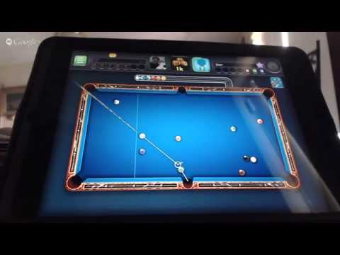 Live Event test - playing 8 ball poll on mac mini