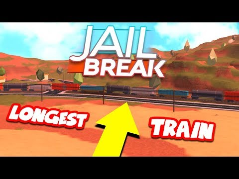 LONGEST TRAIN IN JAILBREAK *WORLD RECORD*