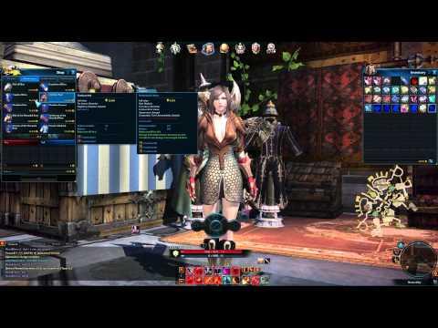 Tera Online Remodel Dye Tutorial with Commentary
