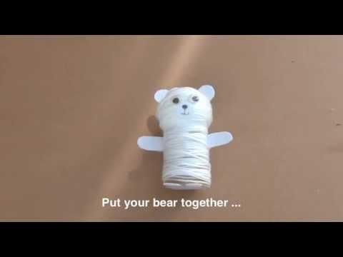How to make a woolly polar bear