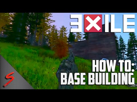 Exile Base Building Tutorial - Arma 3 Exile (How To)