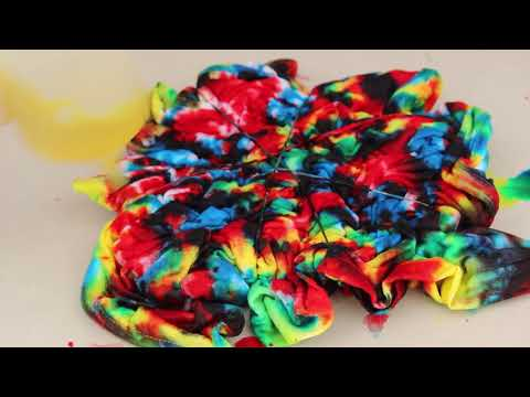 How To Make a Crumpled Tie Dye T-shirt