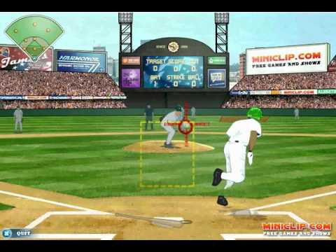 Miniclip Games - Baseball on Easy