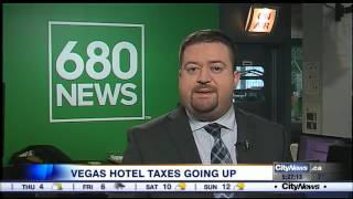 Video: Las Vegas hotel taxes going up