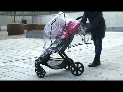 BRITAX Buggies – How to fit the raincover