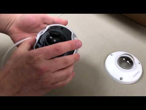 IPD4FL IP Camera Range of Motion Demonstration