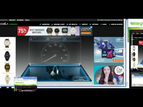 Coreon Gate Live Internet Speed Test 200+mbps