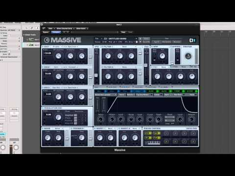 How To Make a Hands Up Dance Synth in Massive Free Patches