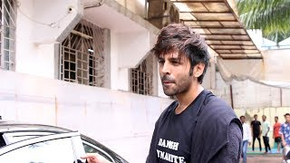 Kartik Aaryan Spotted Post His Workout Session In The Suburbs Today