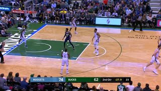 2nd Quarter, One Box Video: Milwaukee Bucks vs. Denver Nuggets