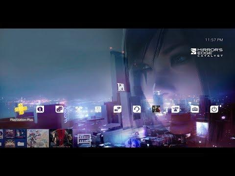 Mirrors Edge Catalyst PS4 Pre-Order Theme
