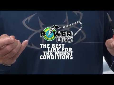 Tying the Double Uni Knot | Braid to Mono | PowerPro Maxcuatro