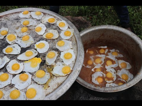 HALF BOIL GRAVY / Using 250 DUCK EGGS / DADDY Arumugam / Village food factory
