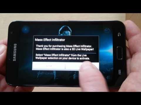 Galaxy Note 1 MASS EFFECT Infiltrator