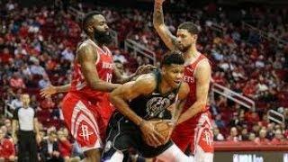 Houston Rockets vs Milwaukee Bucks NBA Full Highlights (10th January 2019)