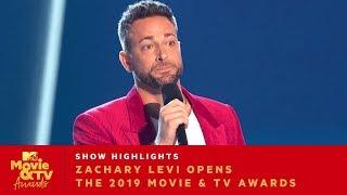 Zachary Levi Opens the 2019 Movie & TV Awards