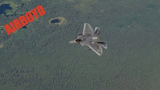 F-22 Training Escort Flight