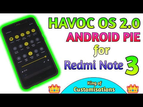 Havoc OS 2 0 Android PIE 9 0 ROM for Redmi Note 3