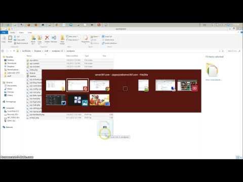 Creating MYSQL database & manually installing WordPress