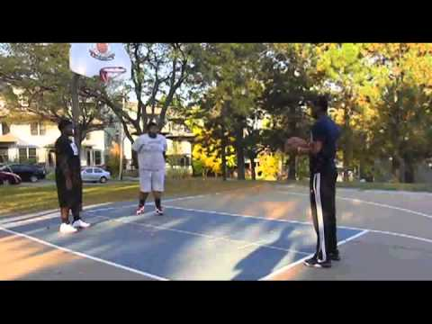 Free Throw Shooting at a basketball return is more fun than chasing the ball - it comes back,