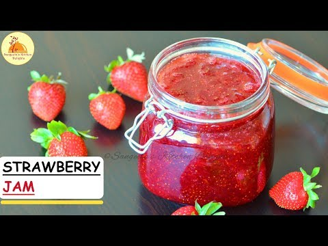 Homemade Strawberry Jam (without Pectin, no artificial colour and flavour)