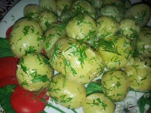 Свежая картошка рецепт фото