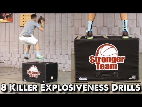 8 Killer Explosiveness Drills for Basketball Players (Box Jumps)