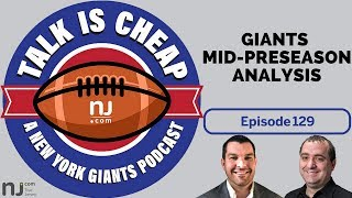New York Giants mid-preseason analysis