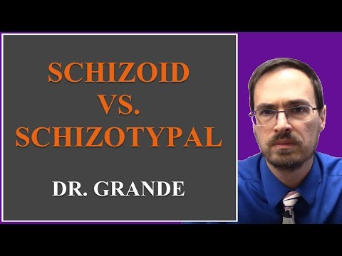What is the difference between Schizoid Personality Disorder and Schizotypal Personality Disorder?