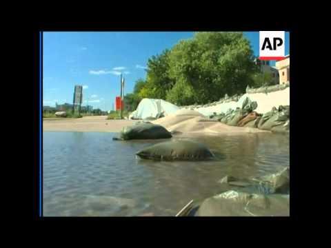 Hospital evacuated; 400 city blocks under water