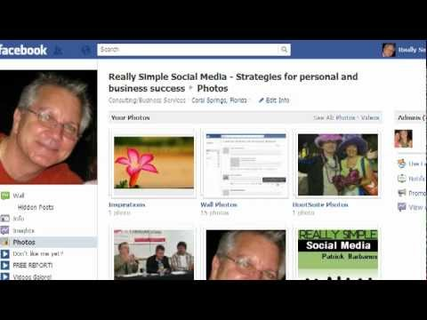 How To Organize Your Facebook Photos