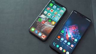 OnePlus 6 First Impressions and iPhone X Comparison