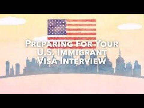 Filipina I-130 Spousal Visa Process-- Part 8 - NVC Embassy Interview Letter