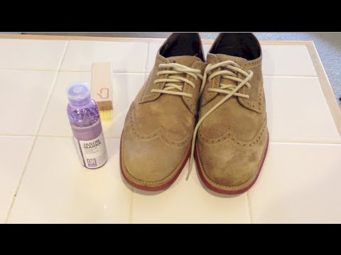 Jason Markk Shoe Cleaner Review - Cleaning Suede Fail