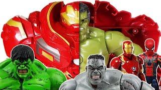 Hulk Smash! Defeat the Thanos! Avengers Go~! Spider-Man, Iron Man, Captain America