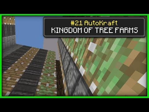 Minecraft - THE GREAT TREE KINGDOM [ AutoKraft Lets Play #21 ] Console / MCPE / Bedrock