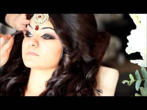 Makeup by Aliyah Red Bridal Look HD