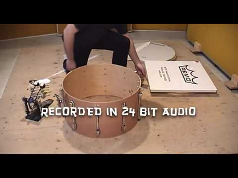 Tuning the Bass Drum Bonham style