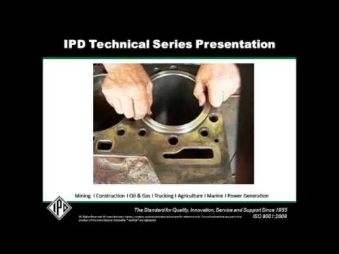 3406 and C15 cracked liner flange and blown head gaskets explained.