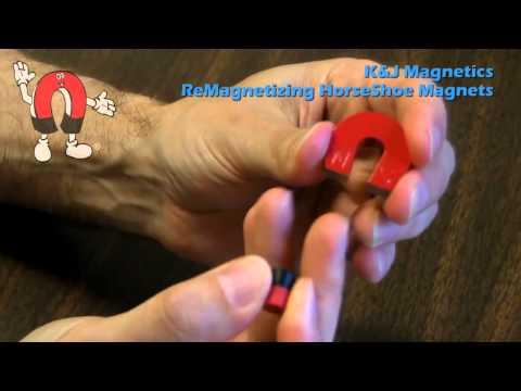 K&J Magnetics - Remagnetize a Horseshoe Magnet