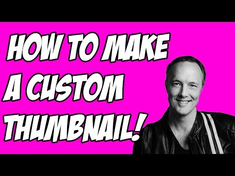 HOW TO MAKE A CUSTOM THUMBNAIL  -  PAINT.NET TUTORIAL!