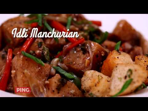 Idli Manchurian Recipe (इडली मंचूरियन) in Tamil | World Idli Day | Dakshin Curry