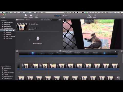 iMovie 10 Tips: Timeline Wrapping, Audio, Clip Speed
